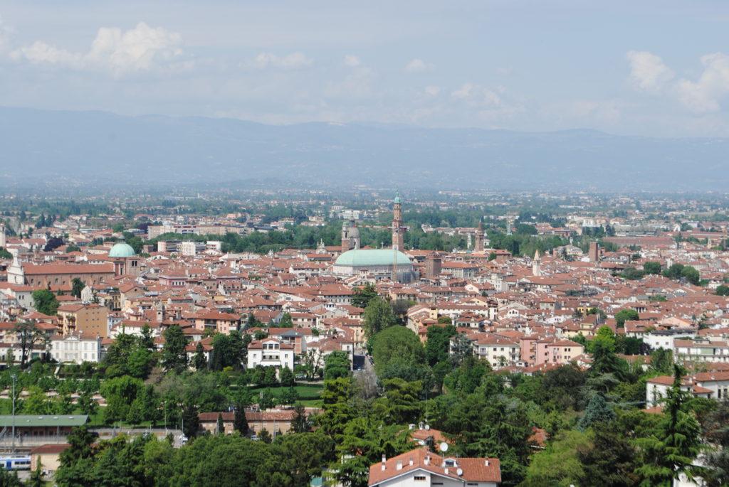 Vicenza veduta panoramica