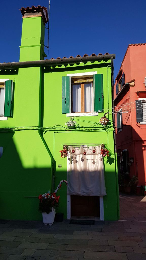 Island of Burano Venice