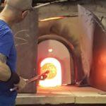 Master glassblower Murano