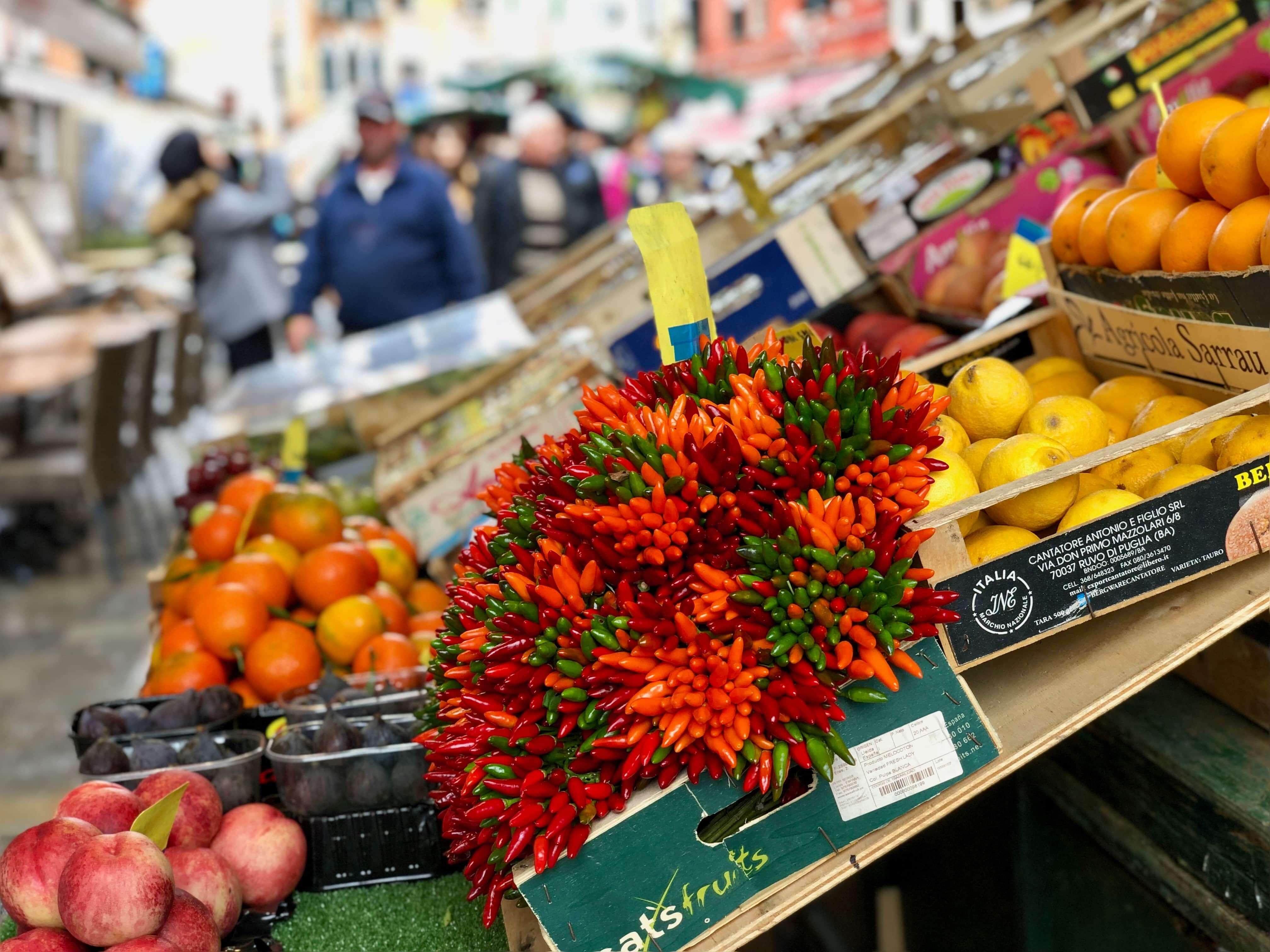 Food market Venice