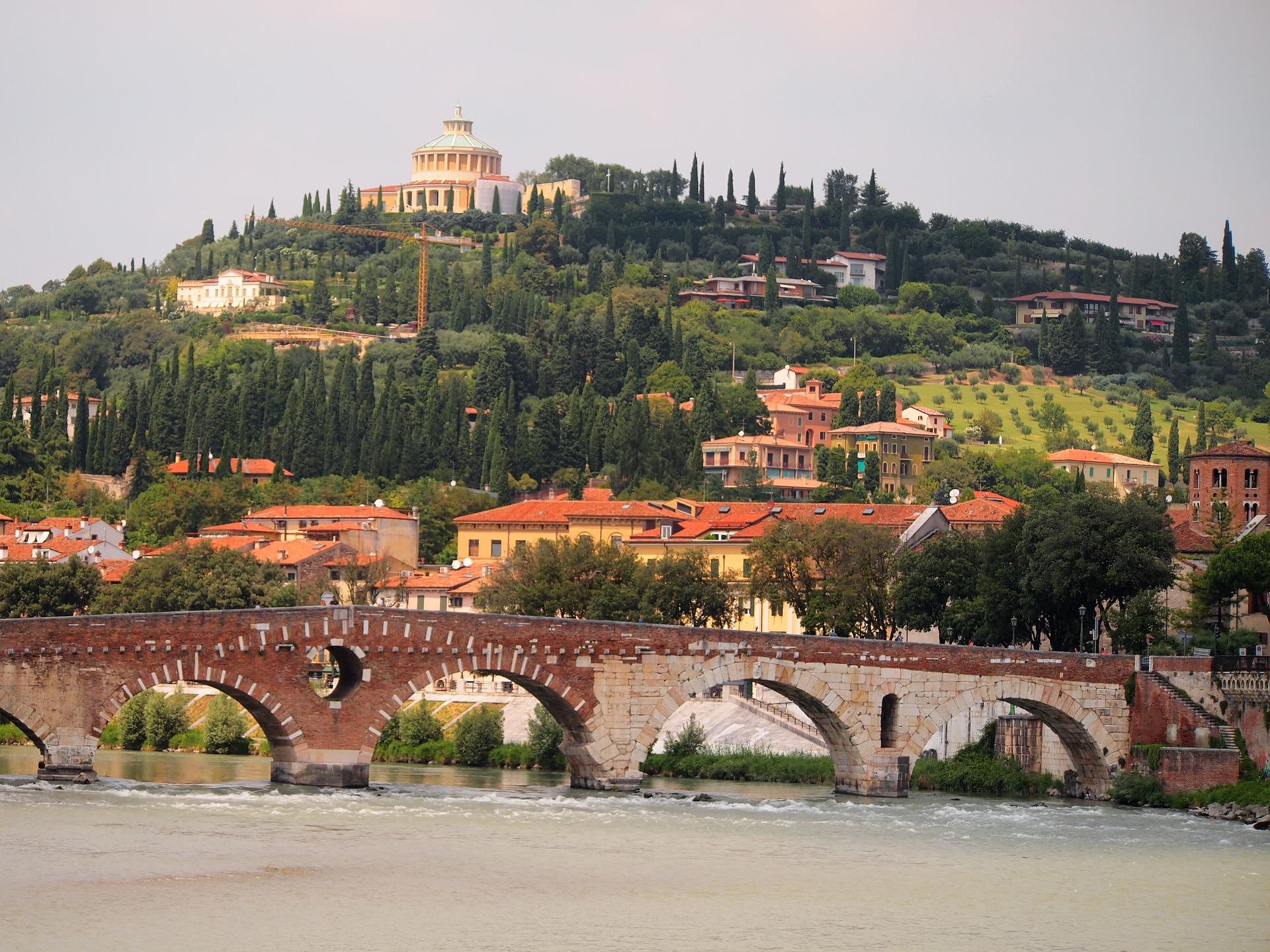Verona's hills