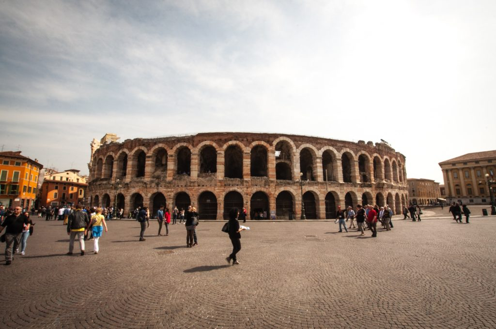 Roman theatre Verona